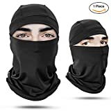 Balaclava Face Mask - Protects From Wind, Sun, Dust - for Motorcycle, Face Mask for Ski, Cycling, Running or Hiking - Summer or Winter Gear - One Size,Unisex ,1 Pack