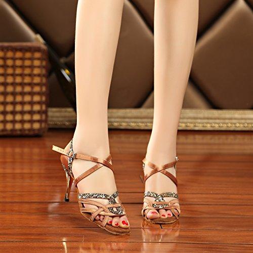 Minitoo - salón mujer Bronze-8cm Heel