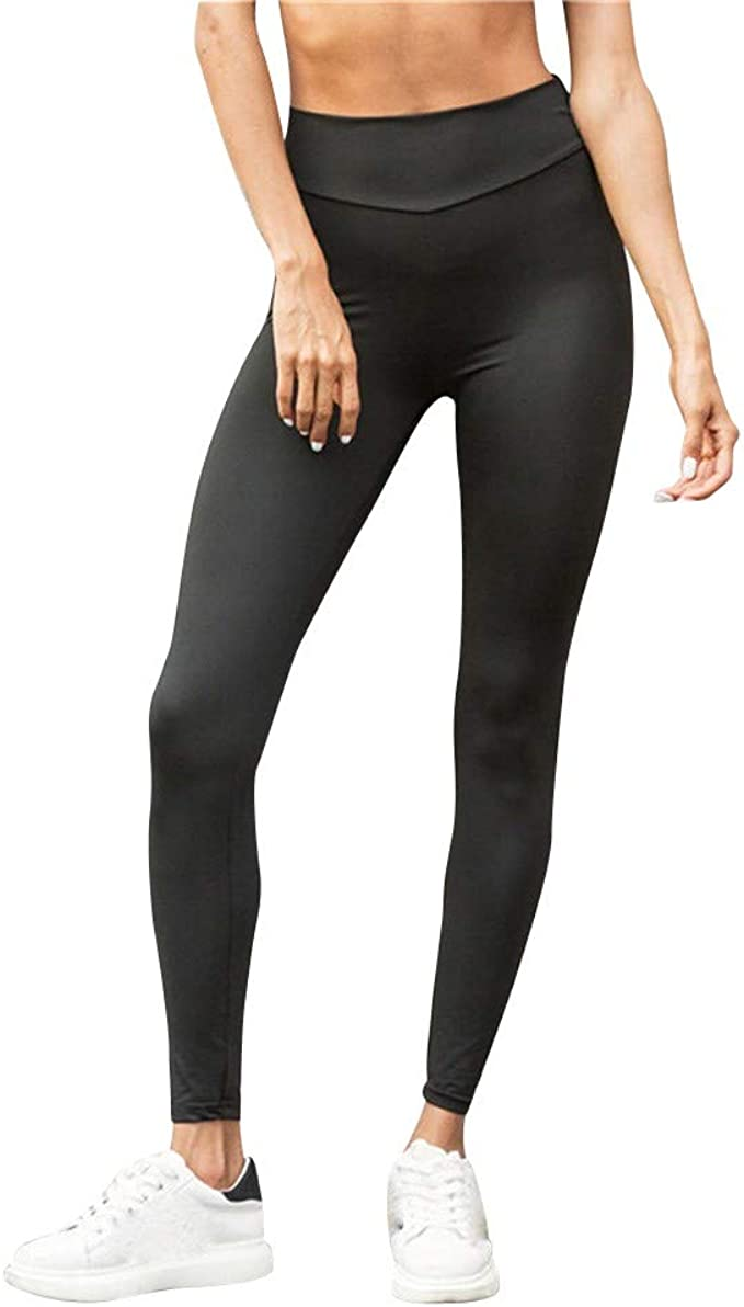 2019  Womens Yoga Workout Gym Leggings Fitness Sports Trouser Athletic Pants