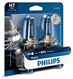 mercedes benz headlight bulb - Philips 12972PRB2 H7 Vision Upgrade Headlight Bulb, 2 Pack