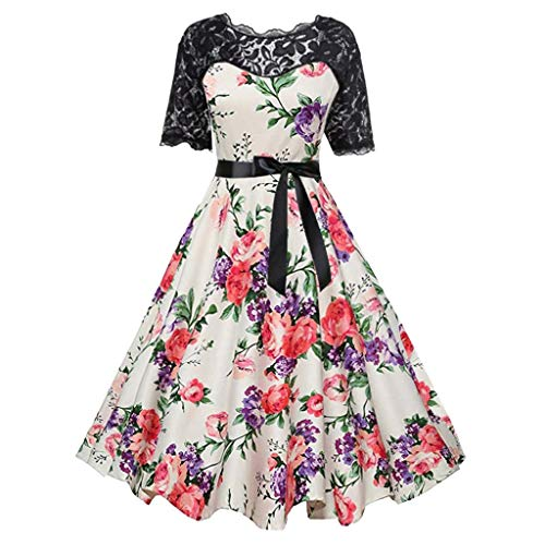 Shusuen Womens Short Sleeve Cocktail Wedding Party Formal Dresses Halloween Cosplay Costumes