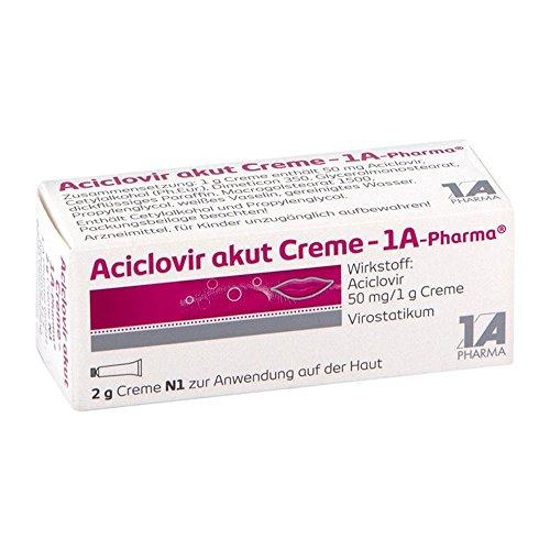 Aciclovir akut Creme - 1A-Pharma, 2 g