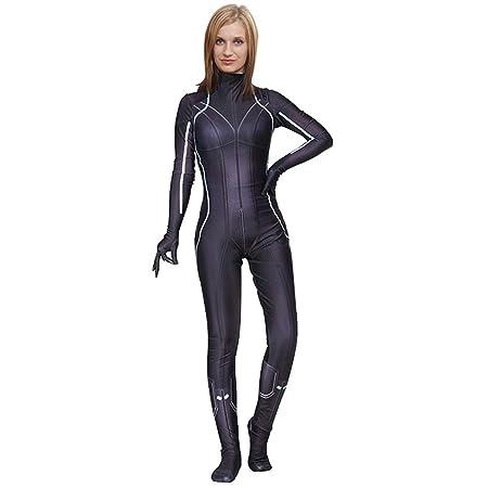 QQWE Disfraz de Viuda Negra, Disfraz de Cosplay para Mujer ...