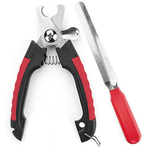 Weebo Pets Safety Guard Pliers Style Nail Clipper with Nail ()