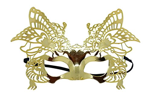 Venetian Laser Cut Masquerade Mask (GOLD) for $<!--$7.99-->