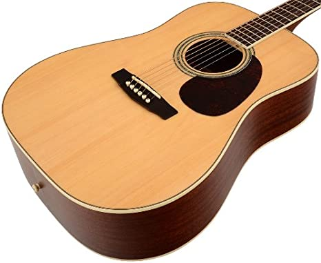 Cort Guitarra acústica Earth 100 NS Mate Natural: Amazon.es ...