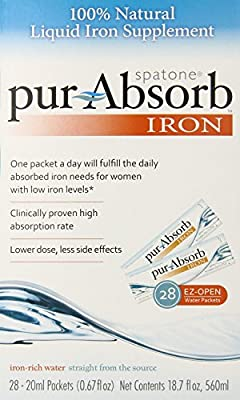 Spatone Pur-absorb Iron, 28ct-20ml packets(0.67fl oz.)