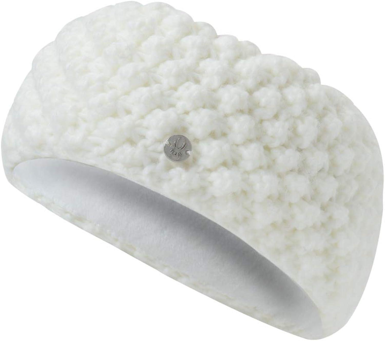 Spyder Women's Brrr Berry Headband, White/White, One Size