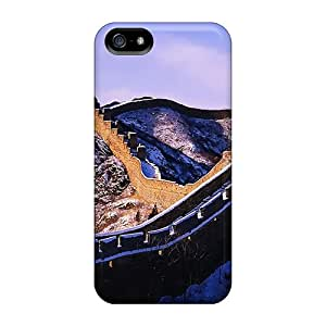 IBUSE5262 Case Cover, Fashionable Iphone 5/5s Case - Great Wall In Winter
