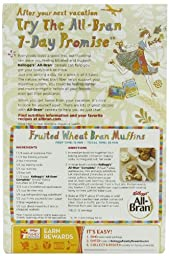 All-Bran Cereal, Complete Wheat, 18-Ounce Boxes (Pack of 2)