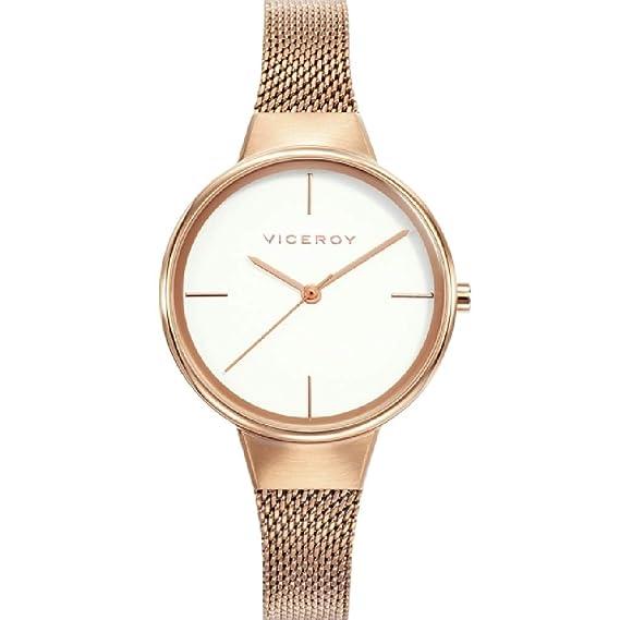 Viceroy 42350-07 - Reloj Mujer Chapado Oro Rosa