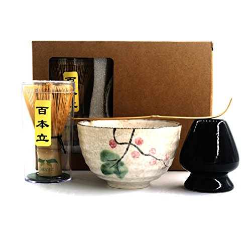 Why Choose Complete Start Up Matcha Tea Kit - Retro Japanese Natural Bamboo Matcha Whisk (Chasen) - ...