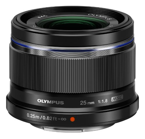 Olympus 25mm f1 8 Interchangeable Black
