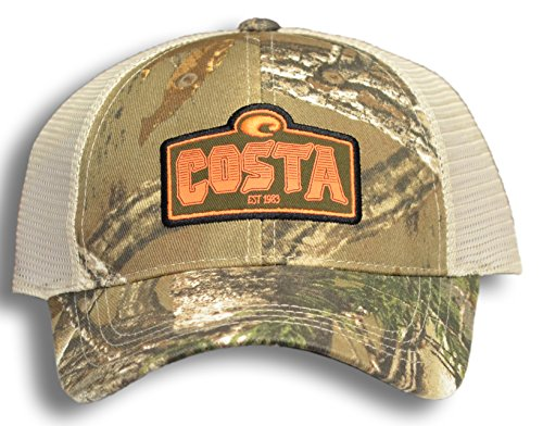 Costa Del Mar Cape Mesh Trucker Hat, Realtree Xtra - Costa Camo