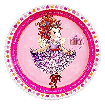Amazon.com: Fiesta destino 233954 Fancy Nancy Platos de ...