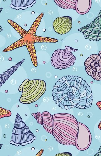 Journal: Colorful Seashells: Lined Journal, 130 pages, 5.5 x 8.5, Seashells, Soft Cover, Matte Finish (Sea Journals) (Volume (Seashell Journal)