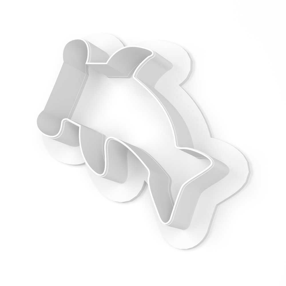 Hammer Head Shark Cookie Cutter - LARGE - 4 Inches