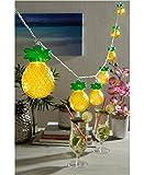Studio Mercantile Novelty 10-ft Pineapple LED String Lights, Set of 2