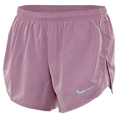 Damen Nike Dry Tempo Running Short Orchidee