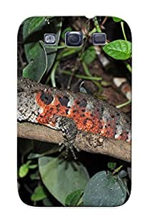 Storydnrmue Top Quality Rugged Animal Chinese Crocodile Lizard Case Cover Deisgn For Galaxy S3 For Lovers