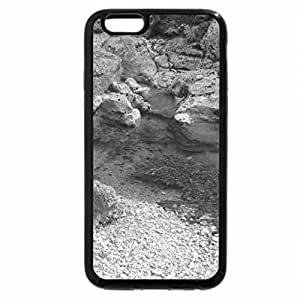 iPhone 6S Case, iPhone 6 Case (Black & White) - Leaves!