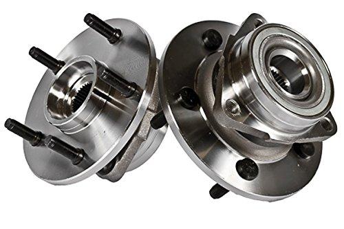 Door 1500 4wd 4 - Callahan 515038X2 [2] Pair FRONT Premium Grade [ 5 Lug 4WD 2-Wheel ABS ] Wheel Hub Bearing Assemblies [ 515038 ]