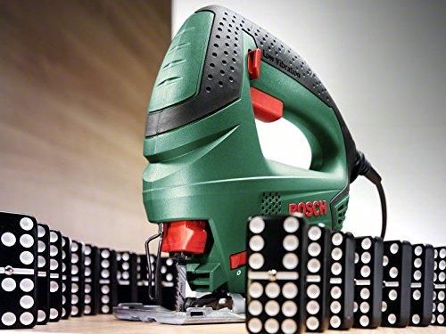 Bosch Stichsäge PST 650 (500 Watt, Schnitttiefe in Stahl/Holz 4mm/65mm, im Koffer) 2