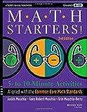 Math Starters, Judith Muschla and Gary Robert Muschla, 1118449797