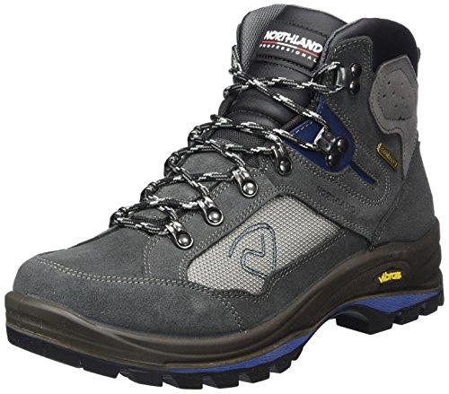 Northland Professional GLOCKNER HC NG - Zapatillas de senderismo Hombre Gris (Dk. Grey/Navy 1)