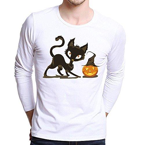 Winsummer Halloween Costume Unisex T-Shirts for Men Women