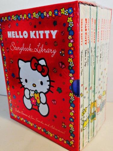 (Hello Kitty Storybook Library Gift Box Set)