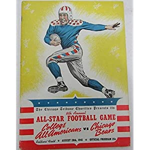 23rd Annual All Star Football Game College Stars vs. Bears 1956 129532