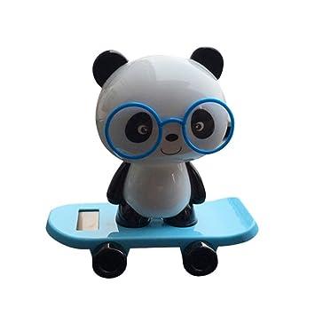 Gaddrt Halloween Weihnachten Solarbetriebene Panda Tiere Tanz ...