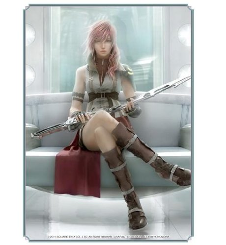 Final Fantasy - Card Sleeve [Lightning Ver.2] by Hobby JAPAN by Hobby JAPAN