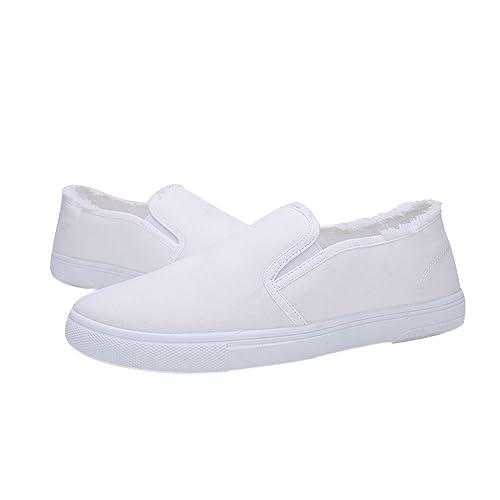 détaillant en ligne En liquidation qualité stable OHQ College Vent Hommes Chaussures en Toile Blanches Orange ...