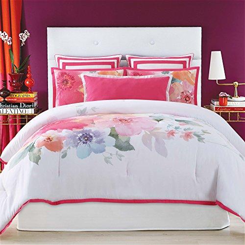 Christian Siriano Bold Floral Twin/ Twin XL 2 Piece Comforter Set