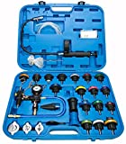 8milelake 28pcs Master Cooling Radiator Pressure Tester with Vacuum Purge and Refill Kit