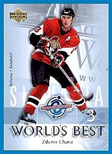 2004-05 Upper Deck World's Best #WB20 Zdeno Chara ottawa senators