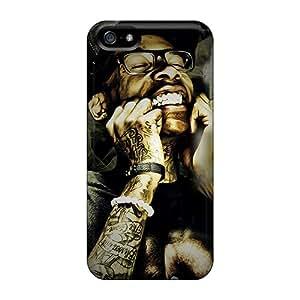 New Arrival Premium 5/5s Case Cover For Iphone (wiz Khalifa)