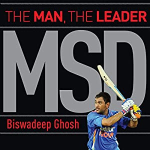 MSD: The Man, the Leader Audiobook