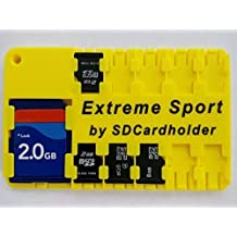 Extreme Sport - It Floats !!! Micro SD Card Case, Holder, Organizer Credit Card Size Storage Device Free Shipping ! Beware of cheap Chinese knock offs!!!