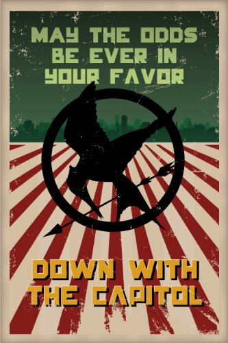 Hunger Games Poster, May The Odds Be Ever In Your Favor - Mockingjay
