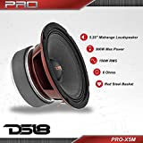 "DS18 PRO-X5M Loudspeaker - 5.25"", Midrange, Red"
