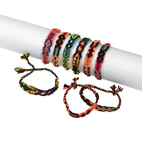 Woven Friendship Bracelets (1 dz) -