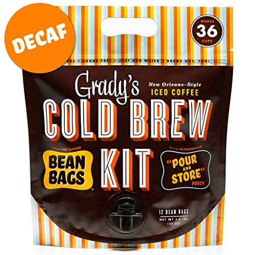 Grady's Cold Brew Iced Coffee Cold Brew Kit (Decaf)