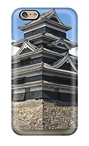 Cute Tpu Benailey Japanese Architecture Case Cover For Iphone 6