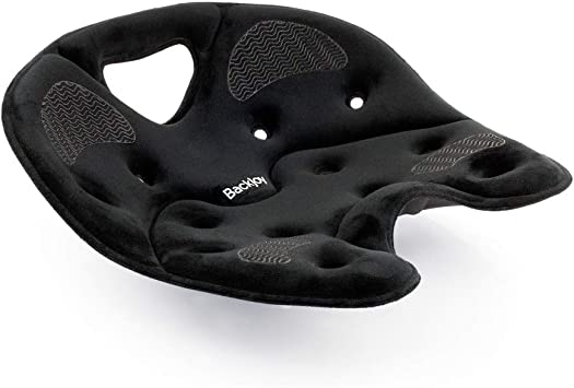 Amazon.com: BackJoy SitSmart - Cojín de tela para postura ...