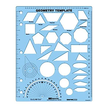 amazon com eai education geometry template (manip u view) toys \u0026 games  image unavailable