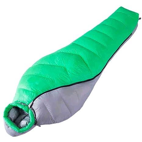 SHUIDAI Saco de dormir outdoor adulto abajo saco de dormir momia pato abajo saco de dormir