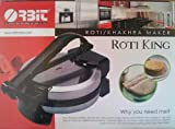 Roti King Tortilla Roti Maker1000 Watts Non-Stick 110 Volts